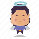 angel, boy, emoji icon