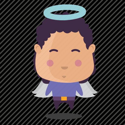 angel, boy, emoji icon