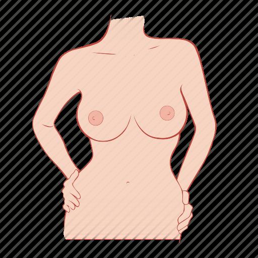 big, body, bra, breast, woman icon