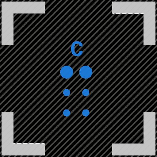 Alphabet, braille, c, letter icon - Download on Iconfinder
