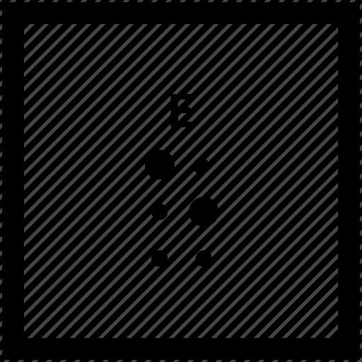 Alphabet, braille, e, letter icon - Download on Iconfinder