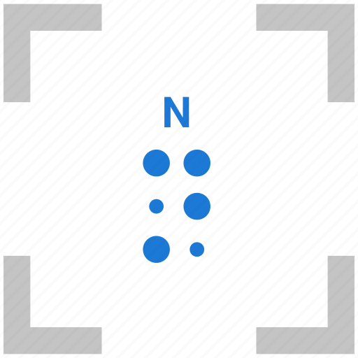 Alphabet, braille, letter, n icon - Download on Iconfinder