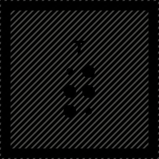 Alphabet, braille, letter, t icon - Download on Iconfinder