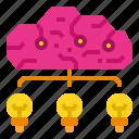 brain, idea, imagination, inspiration, knowledge, thinking icon