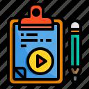 board, check, clipboard, list, multimedia, pad