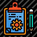 board, check, clipboard, list, pad, process