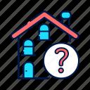 alzheimer, confusion, architecture, house, building, dementia, location icon
