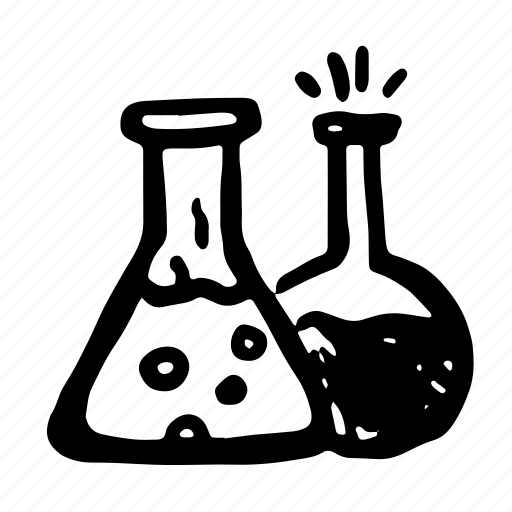 chemistry, cure, flask, hand-drawn, lab, poison, potion, potions icon