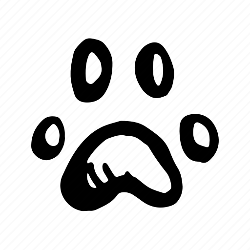 animal, animals, cat, dog, food, hand-drawn, pathfinder, paw, pet, trail, zoology icon