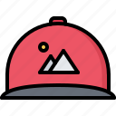 brand, branding, cap, design, typography