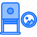 brand, branding, design, stamp, typography icon