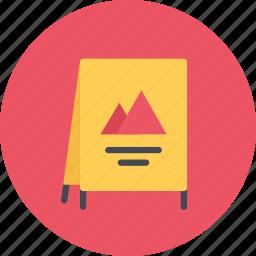 advertising, brand, branding, design, designer, stand, typography icon