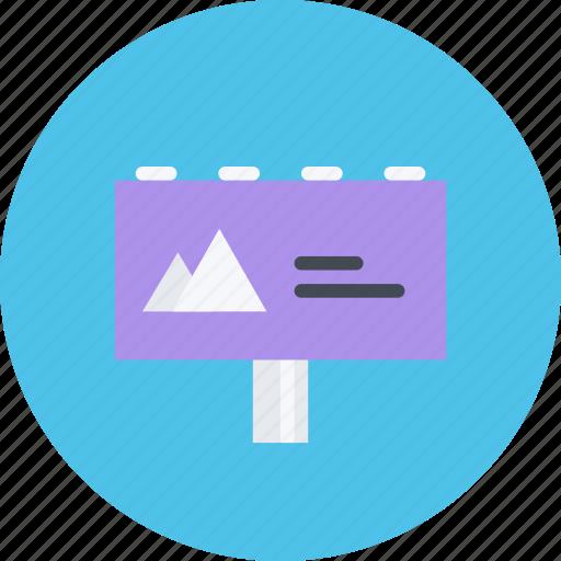 billboard, brand, branding, design, designer, typography icon