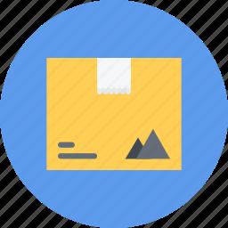 box, brand, branding, design, designer, typography icon