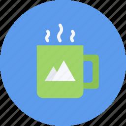 brand, branding, cup, design, designer, typography icon
