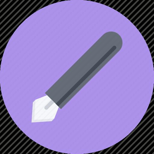 brand, branding, design, designer, pen, typography icon