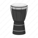 brazilian, drum, instrument, music, percussion, sound icon