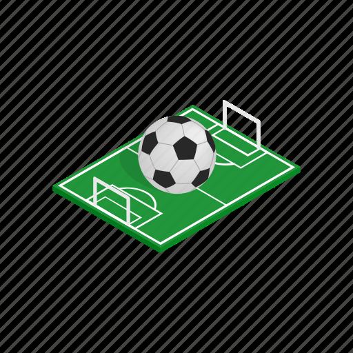 ball, brazil, flag, football, isometric, soccer, sport icon