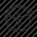 above, drum, instrument, musical, rhythm, sound, view icon