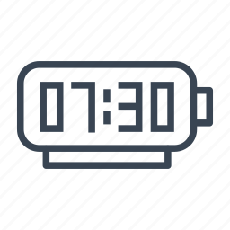 alarm, clock, radio, time icon