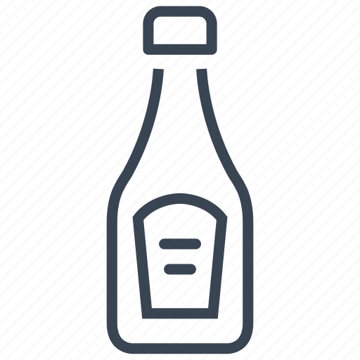Bottle, ketchup, sauce, tomato icon - Download on Iconfinder