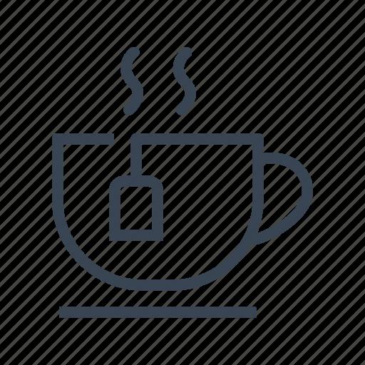 breakfast, cup, drink, tea icon