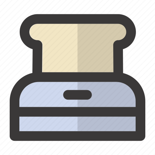 Appliance, bread, breakfast, food, morning, toast, toaster icon - Download on Iconfinder