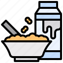 cereal, cereals, food, meal, nutrition icon