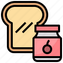 Bread Breakfast Toast Yam Icon