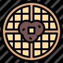 food, meal, sweet, toast, waffles