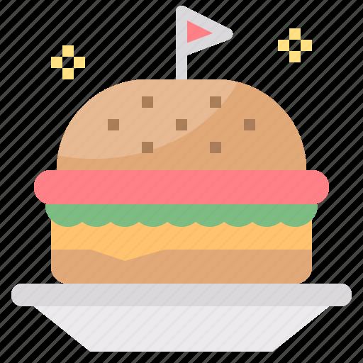 Burger, fast, food, hamburger, sandwich icon - Download on Iconfinder
