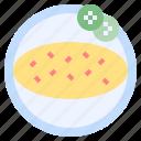 breakfast, dinner, lunch, omelette icon