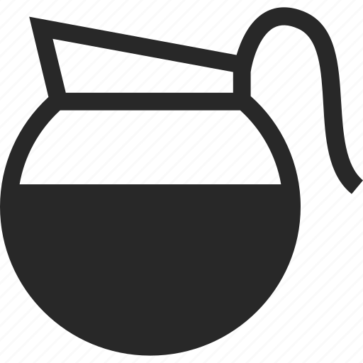 beverage, coffee, coffee pot, drink, pot icon