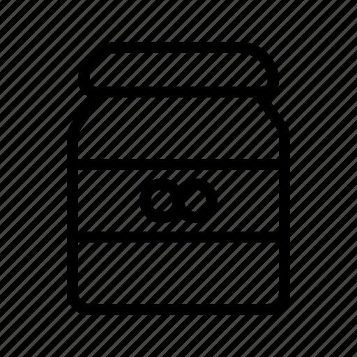 Cook, eat, food, jam, kitchen, peanut, restaurant icon - Download on Iconfinder