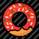 breakfast, cake, dessert, donuts, food, meal, sweet