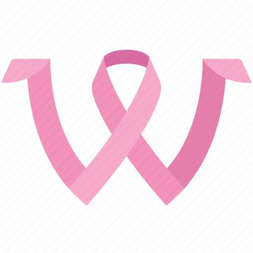 breast, cancer, disease, iwd, ribbon, woman, women's day icon