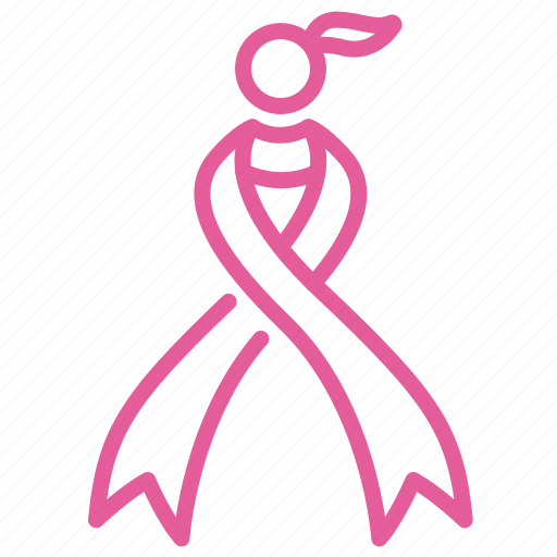 breast, cancer, care, female, iwd, ribbon, women icon