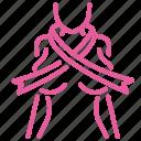 breast, cancer, care, female, ribbon, treatment, women icon