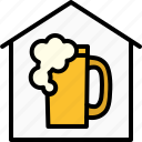 pub, brew, craft, beer, homemade, brewery, home icon