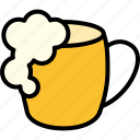 beer, brewery, glass, mug, pub, tankard icon