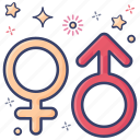 female sign, person sign, male sign, gender signs, sex, gender male icon