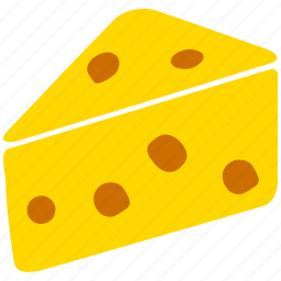 cake, cheese, dinner, eating, meal, piece, slice icon