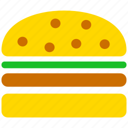 bread, burger, food, hamburger, lunch, meal, sandwich icon