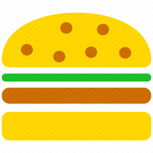 bread, burger, food, hamburger, lunch, meal, sandwich icon