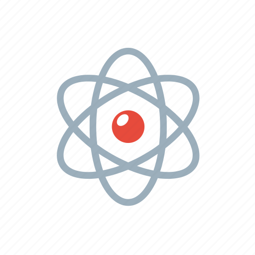 atom, chemistry, education, electron, molecule, physics, science icon