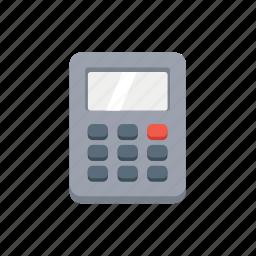 accounting, calc, calculator, math, mathematics, school icon