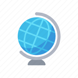 earth, geography, globe, map, world icon