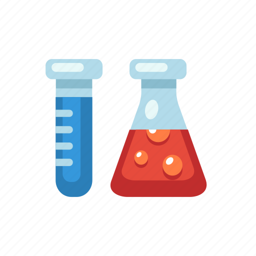 chemical, chemistry, experiment, flask, lab, test, tubes icon
