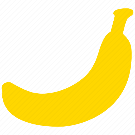 banana, diet, fruit, healthy icon