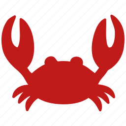 cooking, crab, restaurant, sea food, seafood icon